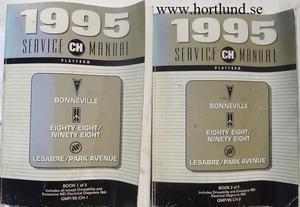 1995 Pontiac Bonneville Oldsmobile Eighty Eight Ninety Eight Buick LeSabre Park Avenue Service Manual