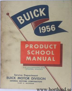 1956 Buick product school manual