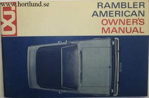 1968 Rambler American Owner's Manual