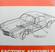 1973 Chevrolet Camaro Assembly Manual