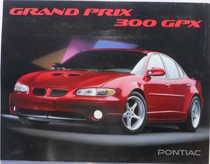 1995 Pontiac Grand Prix 300 GPX Press Kit