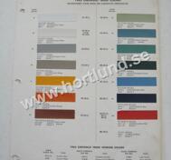 1963 Chevrolet Trucks Colors Du Pont
