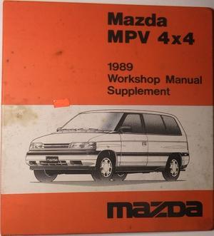 1989 Mazda MPV 4x4 Pärm
