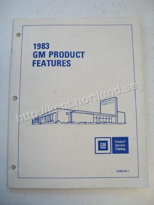 1983 GM Product Service Training Features