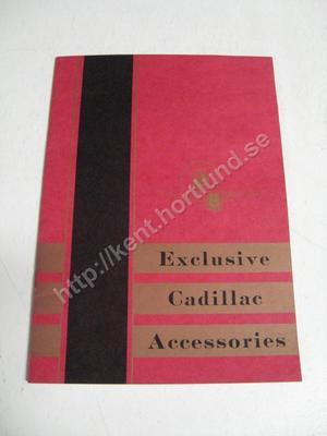 1932 Cadillac Exclusive Cadillac Accessories