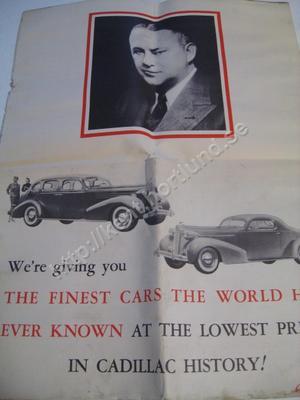 1936 Cadillac La Salle Brochure
