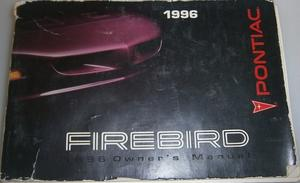 1996 Pontiac Firebird Owners Manual