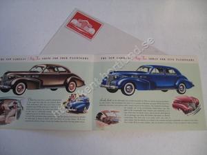 1940 Cadillac Försäljningsbroschyr