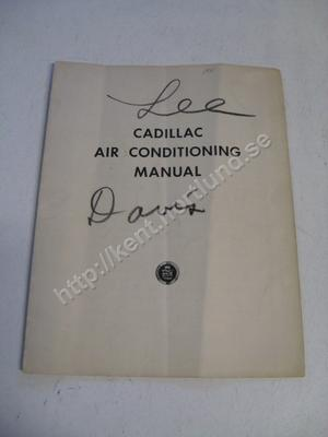 1941 Cadillac Air Condition Guide
