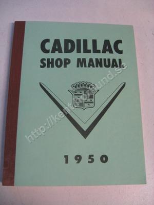 1950 Cadillac Shop manual
