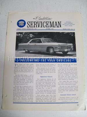 1966 Cadillac Serviceman Nr10