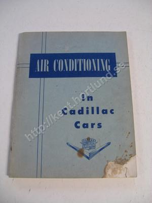 1953 Cadillac Air Conditioning in Cadillac Cars