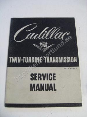 1953 Cadillac Twin-Turbine Transmission Service Manual