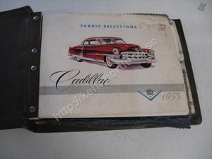 1953 Cadillac Dealer Album Fabric Selection