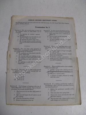 1956 Cadillac examintation no.5