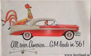 1956 GM Försäljningsbroschyr