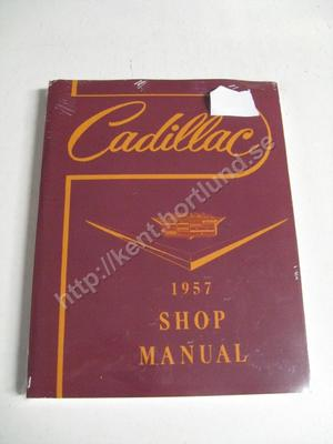 1957 Cadillac Shop Manual