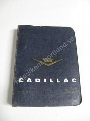 1957 Cadillac Data Book