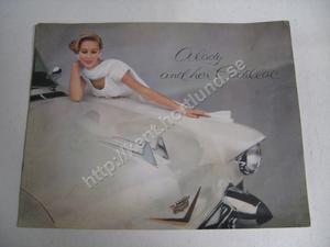 1957 Cadillac Försäljningsbroschyr