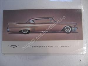 1958 Cadillac Coupe inbjudan