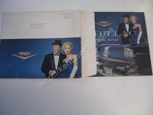 1958 Cadillac Försäljningsbroschyr