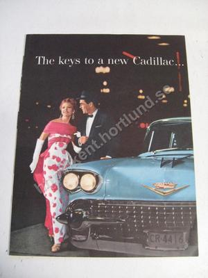 1958 Cadillac broschyr The keys to a new Cadillac...
