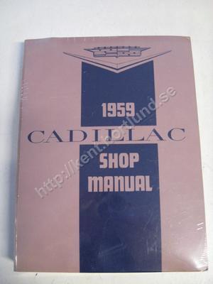1959 Cadillac Shop Manual