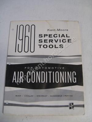1960 Kent-Moore Special Service Tools för GM