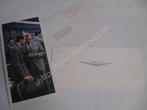 1960 Cadillac service invitation