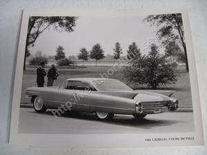 1960 Cadillac Coupe De Ville Press release photo