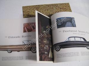 1961 Cadillac broschyr 20 sidor