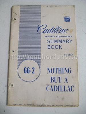1966 Cadillac Service roundtable 66-2