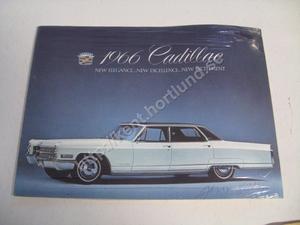 1966 Cadillac Försäljningsbroschyr
