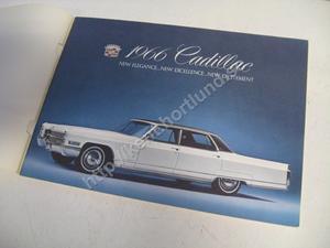 1966 Cadillac Lyxbroschyr