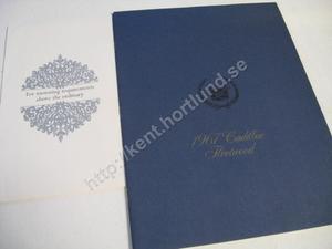 1967 Cadillac Fleetwood broschyr med kuvert