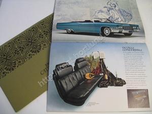 1969 Cadillac  Lyxbroschyr