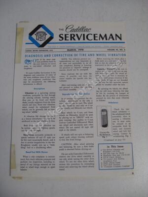 1970 Cadillac The cadillac serviceman