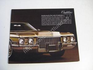 1971 Cadillac Försäljningsbroschyr