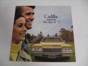 1973 Cadillac Försäljningsbroschyr