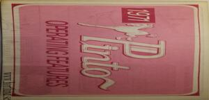 1971 Ford Pinto Owners Manual 5:th edit