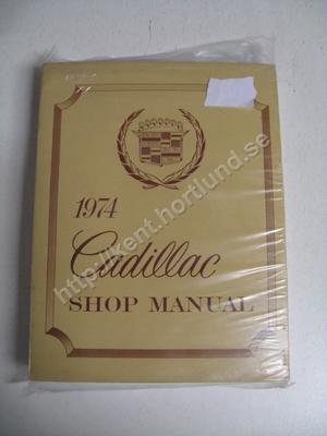 1974 Cadillac Shop manual