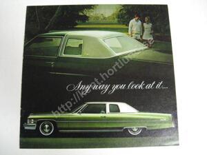 1974 Cadillac Försäljningsbroschyr