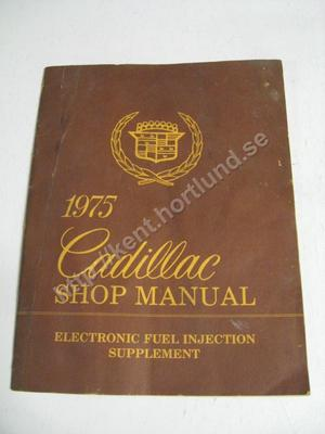1975 Cadillac Electronic fuel injection supplement