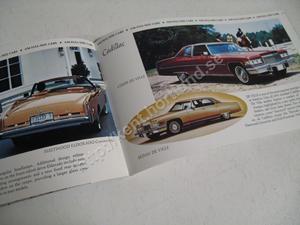 1975 GM broschyr årets fordon
