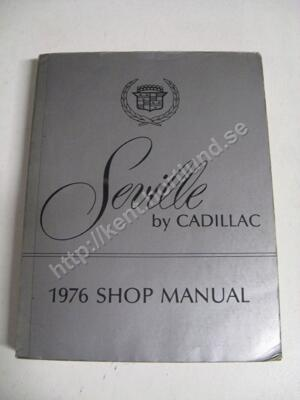 1976 Cadillac  Seville Shop Manual