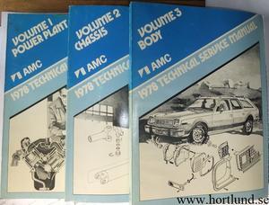 1978 AMC Technical Service Manual
