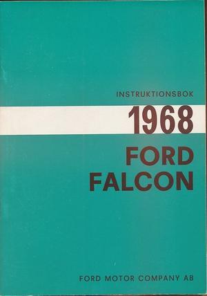1968 Ford Falcon Instruktionsbok svensk