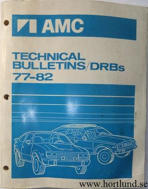 1977-1982 AMC Technical Bulletins
