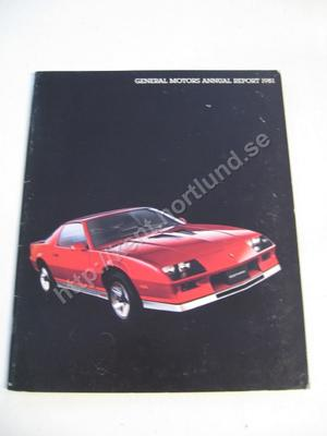 1981 GM annual report