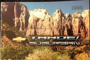 1999 Chevrolet Tahoe / Suburban Owners Manual
